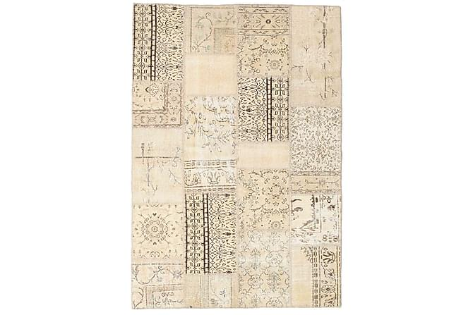 Patchworkmatto Black & White 160x233 Suuri Moderni - Beige - Sisustustuotteet - Matot - Patchwork-matot