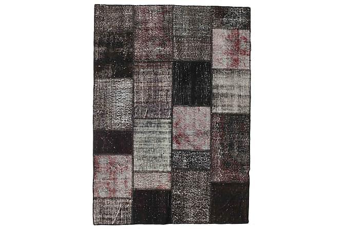 Patchworkmatto Black & White 164x229 Suuri Moderni - Monivärinen - Sisustustuotteet - Matot - Patchwork-matot