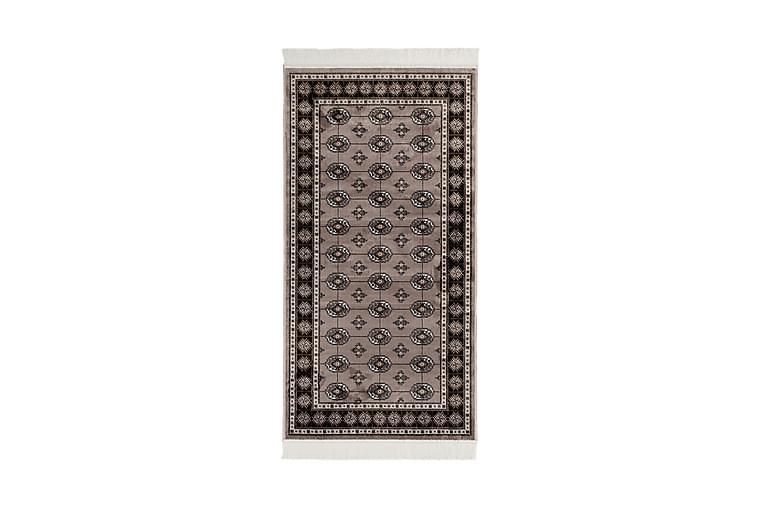 Itämainen matto Kashmir 80x450 Viskoosi - Harmaa - Sisustustuotteet - Matot - Itämaiset matot