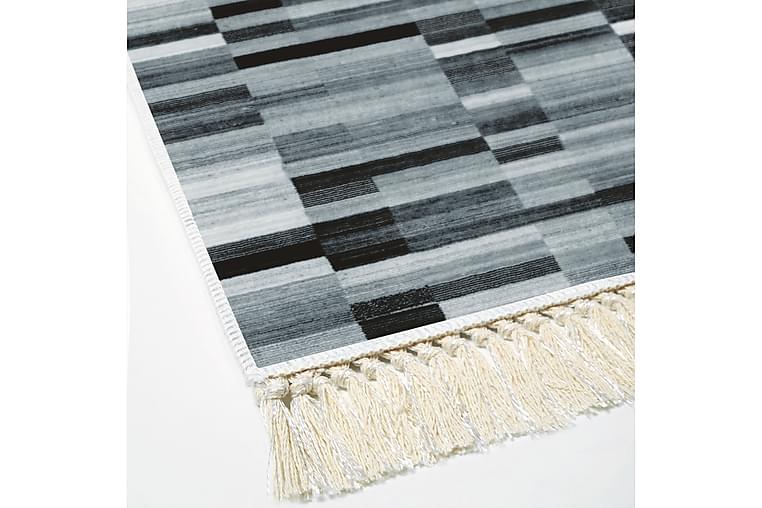 Matto Alanur Home 80x120 cm - Musta/Harmaa/Valkoinen - Sisustustuotteet - Matot - Pienet matot