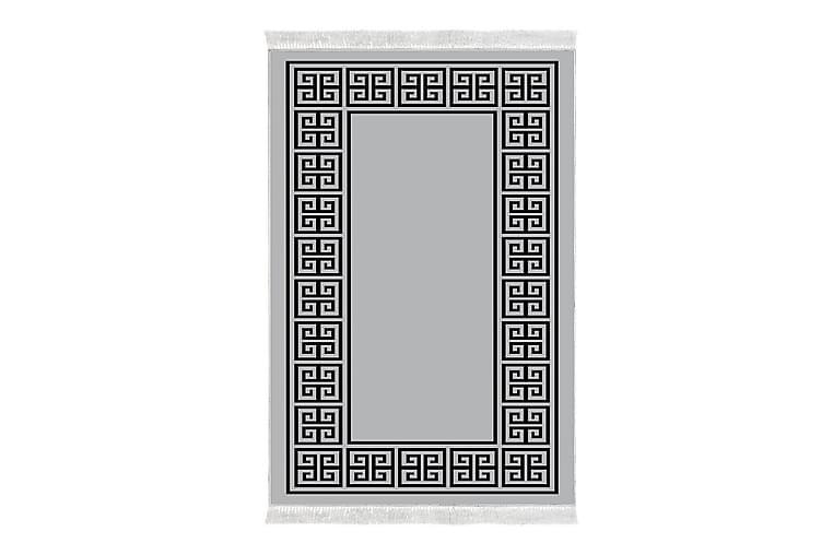 Matto Alanur Home 80x200 cm - Harmaa/Musta - Sisustustuotteet - Matot - Pienet matot