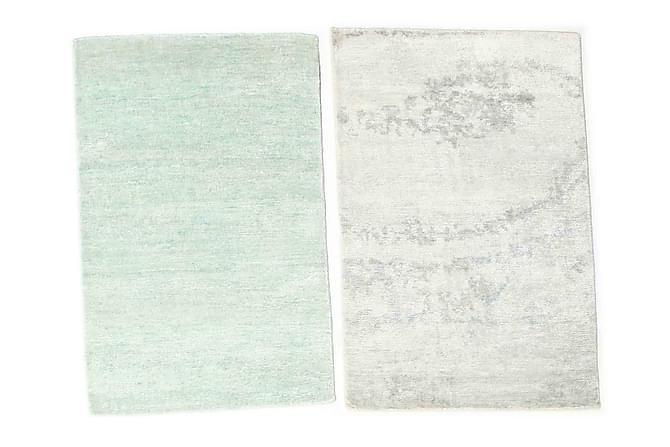 Matto Himalaya 60x90 - Harmaa   Valkoinen - Sisustustuotteet - Matot - Pienet matot