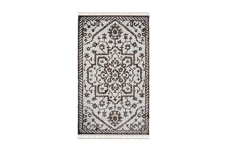 Matto Larche 80x150 cm - Valkoinen/Ruskea/Harmaa - Sisustustuotteet - Matot - Pienet matot