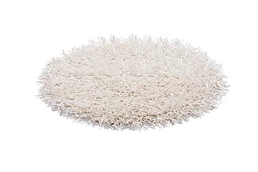 Matto Metallic Pyöreä 61 Valkoinen