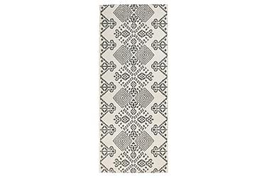 Matto Serafina Flat 80x150 valkoinenharmaa