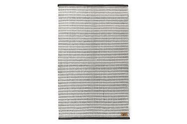 Matto Siperia, 90x150cm, valkoinen/harmaa