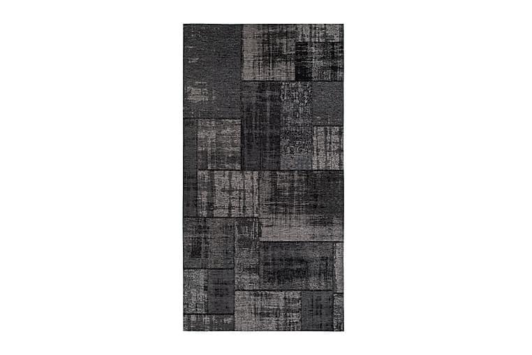 Matto Stracciatella 80x300 cm - Tummanharmaa - Sisustustuotteet - Matot - Pienet matot