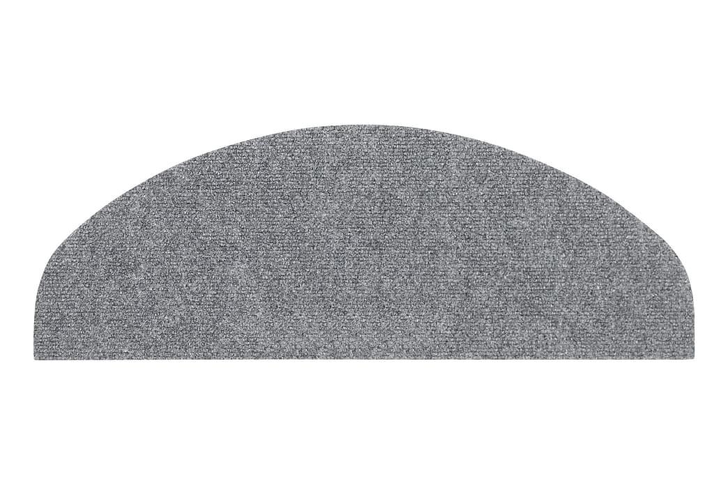 Porrasmatto 27x64 cm Harmaa 15 kpl/pkt - Hestia - Sisustustuotteet - Matot - Porrasmatot