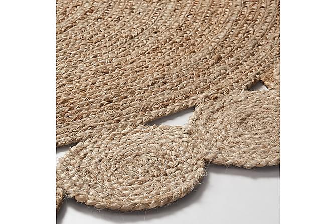 Juuttimatto Cosm Pyöreä 150x150 - Beige - Sisustustuotteet - Matot - Tasokudotut matot