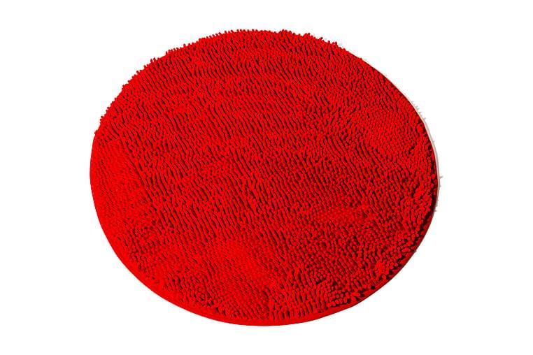 Kylpyhuonematto Lord Nelson Pyöreä 70 - Punainen - Sisustustuotteet - Kodintekstiilit - Kylpyhuoneen tekstiilit