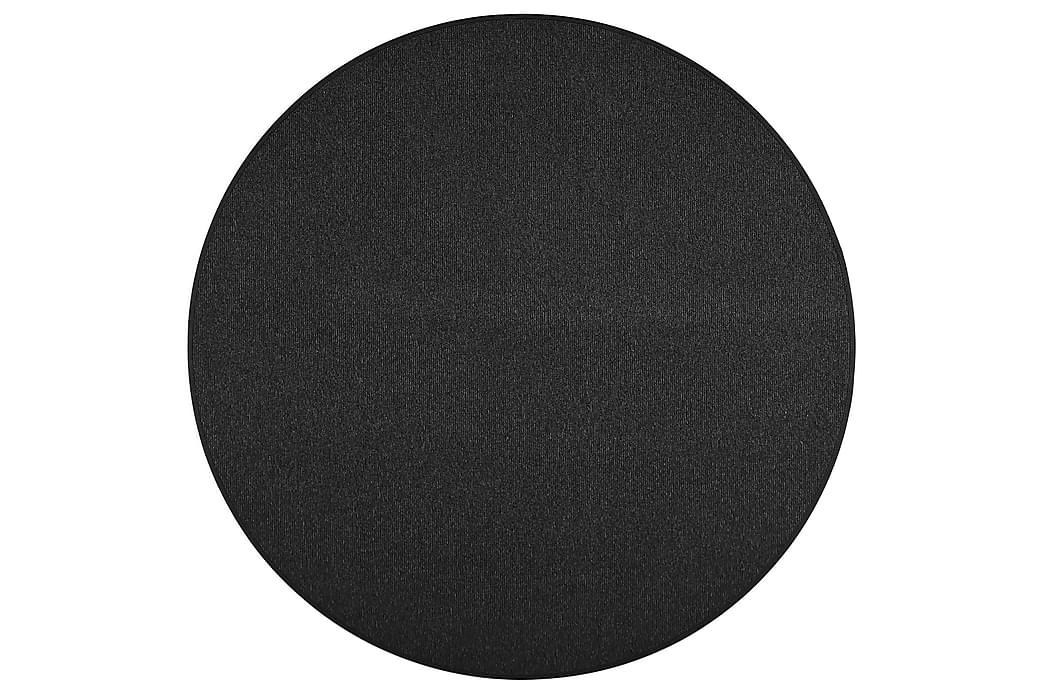 Matto Balanssi Pyöreä 240 cm Musta - VM Carpet - Sisustustuotteet - Matot - Pyöreät matot