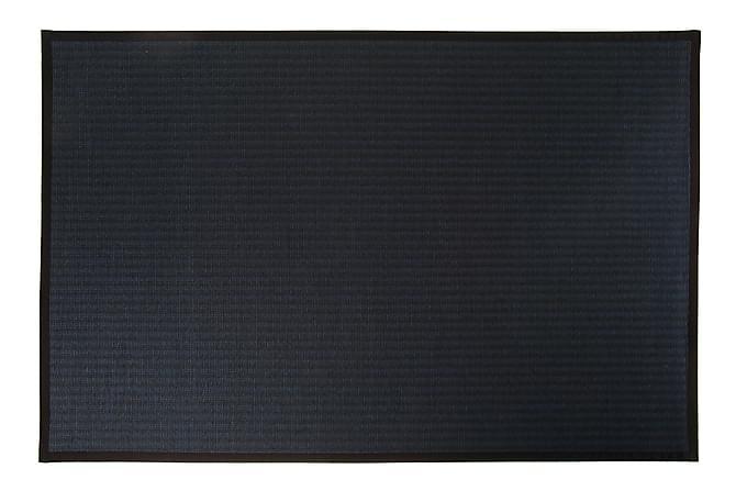 Matto Kelo Pyöreä 200 cm Musta/Sininen - VM Carpet - Sisustustuotteet - Matot - Pyöreät matot