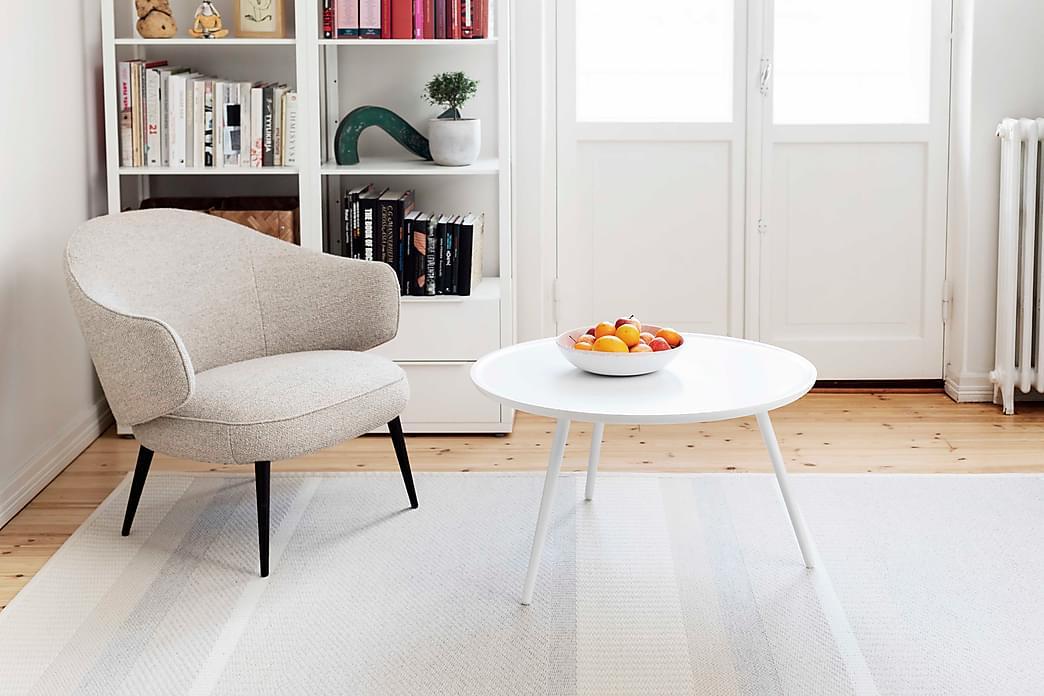 Matto Laituri Pyöreä 133 cm Valkoinen - VM Carpet - Sisustustuotteet - Matot - Pyöreät matot