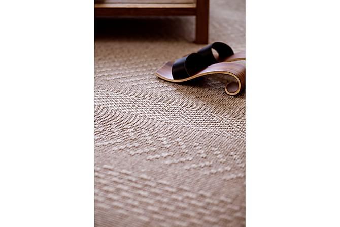 Matto Matilda Pyöreä 160 cm Beige - VM Carpet - Sisustustuotteet - Matot - Villamatot