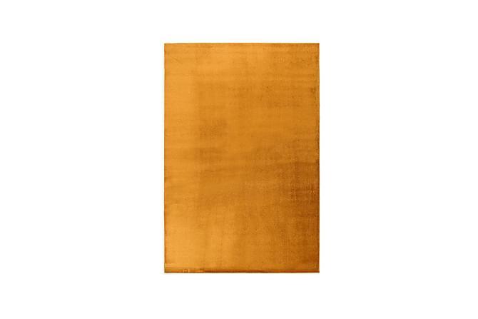 Matto Satine Pyöreä 200 cm Oranssi - VM Carpet - Sisustustuotteet - Matot - Pyöreät matot