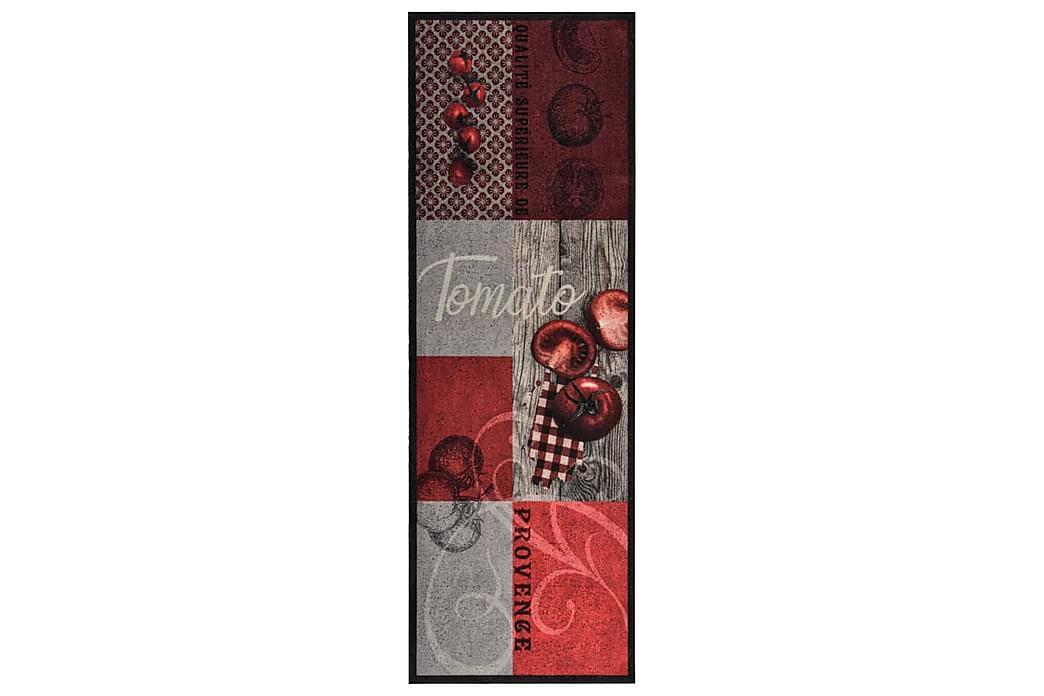 keittiön pestävä matto Tomato 45x150 cm - Monivärinen - Sisustustuotteet - Matot - Räsymatot