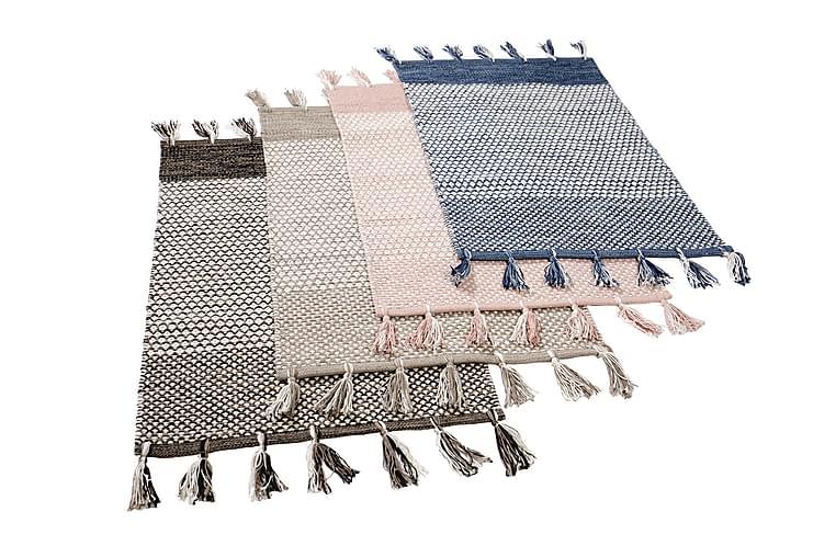 Matto Halla 140x200 - Sininen - Sisustustuotteet - Matot - Räsymatot