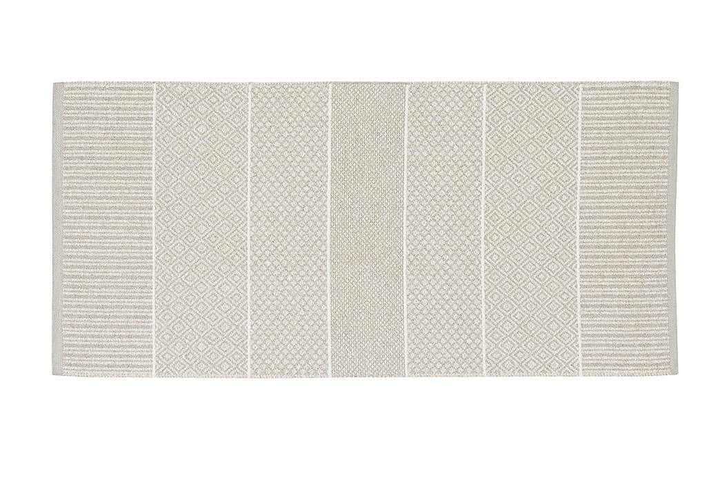 Matto Mix Alice 70x300 PVC/Puuvilla/Polyesteri Hiekka - Horredsmattan - Sisustustuotteet - Matot - Räsymatot