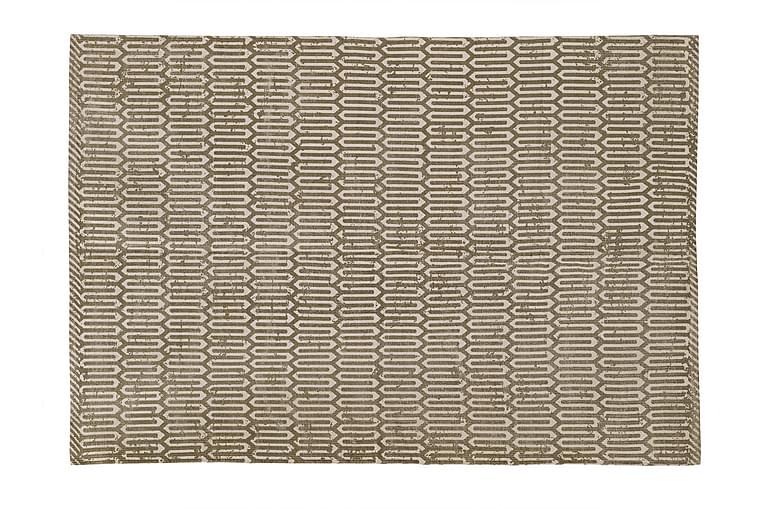 Matto Muscari 190 Beige/l.valkoinen - Sisustustuotteet - Matot - Räsymatot