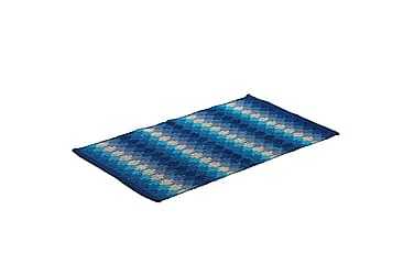 Puuvillamatto Ethno 65x115 Sininen