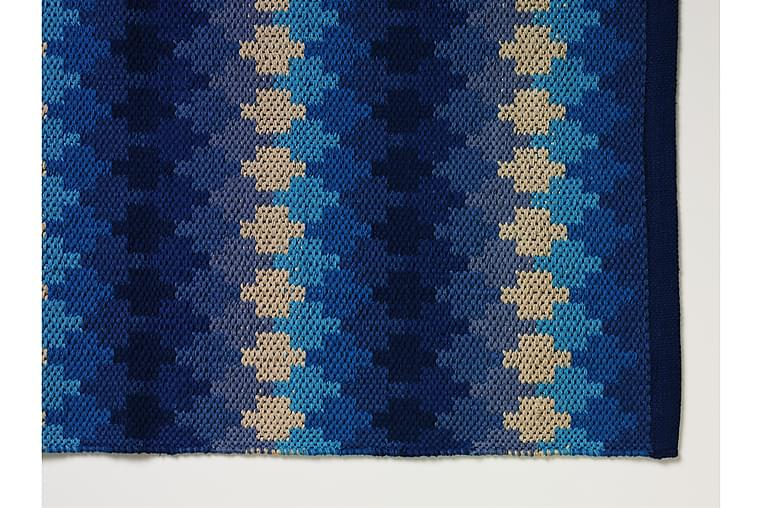 Puuvillamatto Ethno 65x115 Sininen - Etol - Sisustustuotteet - Matot - Räsymatot
