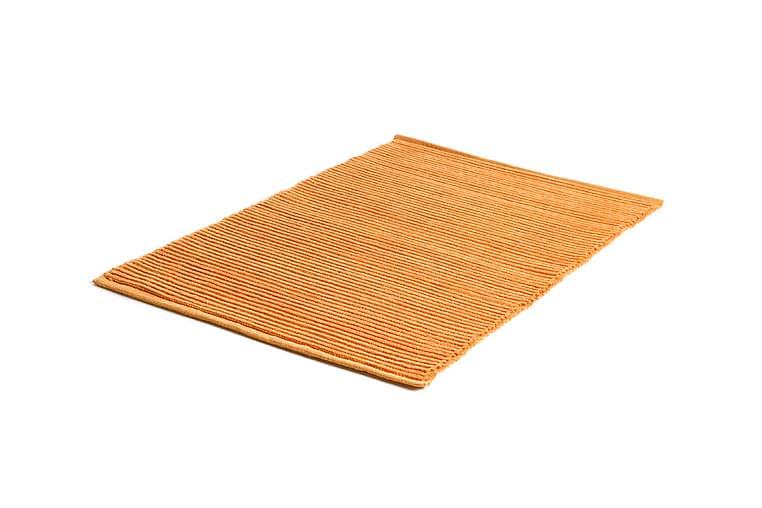 Puuvillamatto Ribb 60x90 Oranssi - Etol - Sisustustuotteet - Matot - Räsymatot