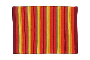 Puuvillamatto Strip 50x80 Oranssi