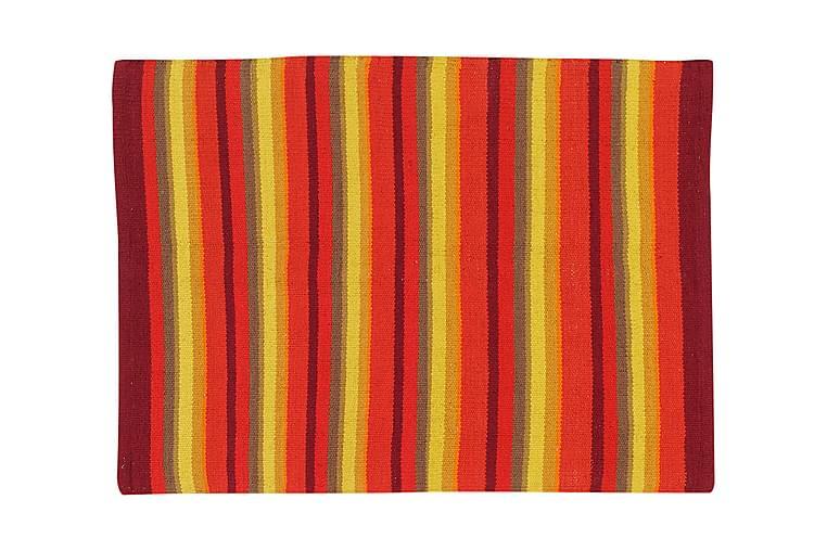 Puuvillamatto Strip 50x80 Oranssi - Etol - Sisustustuotteet - Matot - Räsymatot