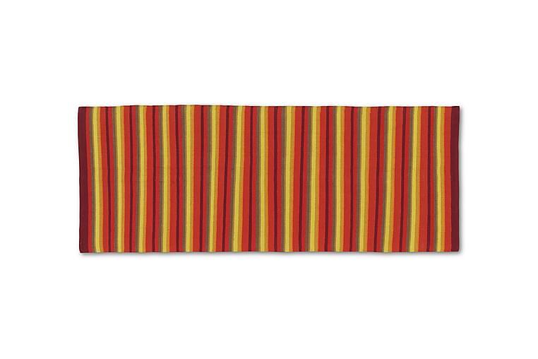 Puuvillamatto Strip 80x200 Oranssi - Etol - Sisustustuotteet - Matot - Räsymatot