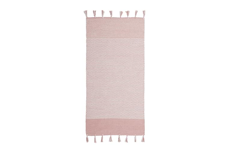 Räsymatto Vinga 75x150 Puuvilla - Vaaleanpunainen - Sisustustuotteet - Matot - Räsymatot