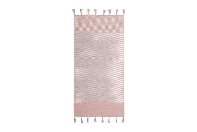 Räsymatto Vinga 75x220 Puuvilla - Vaaleanpunainen - Sisustustuotteet - Matot - Räsymatot