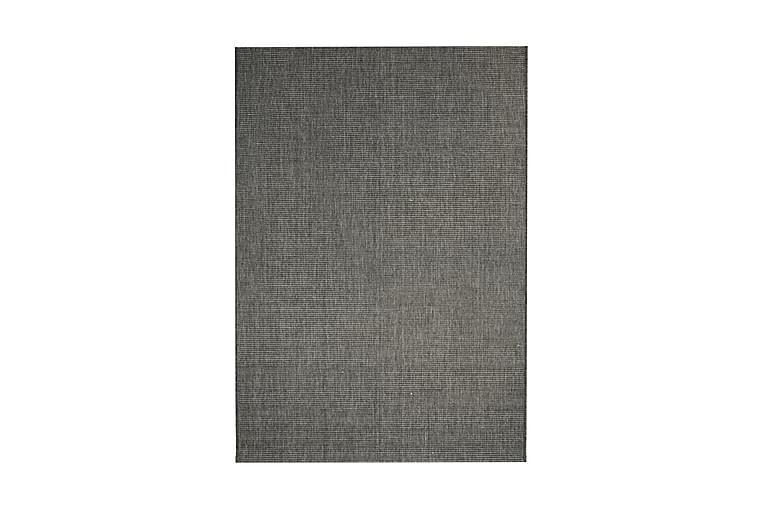 Sisaltyylinen matto sisä-/ulkotiloihin 140x200 cm tumman - Harmaa - Sisustustuotteet - Matot