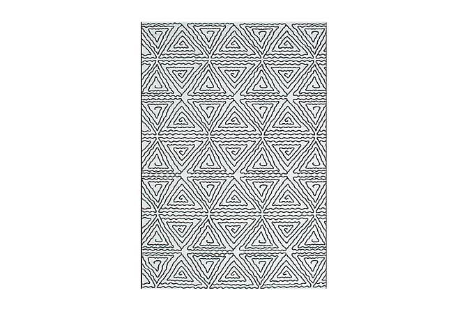 Matto Black & White Abstrakt 133x190 - Musta/Valkoinen - Sisustustuotteet - Matot - Isot matot
