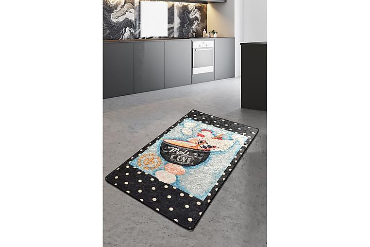 Matto Madelove 160x230 cm - Monivärinen / Sametti - Sisustustuotteet - Matot - Isot matot