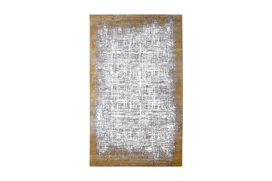 Matto Tacettin 200x290 cm - Keltainen/Harmaa - Sisustustuotteet - Matot - Isot matot