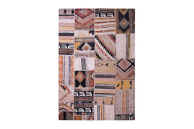 Matto Tibet Patch 160x230 - Monivärinen - Sisustustuotteet - Matot - Isot matot