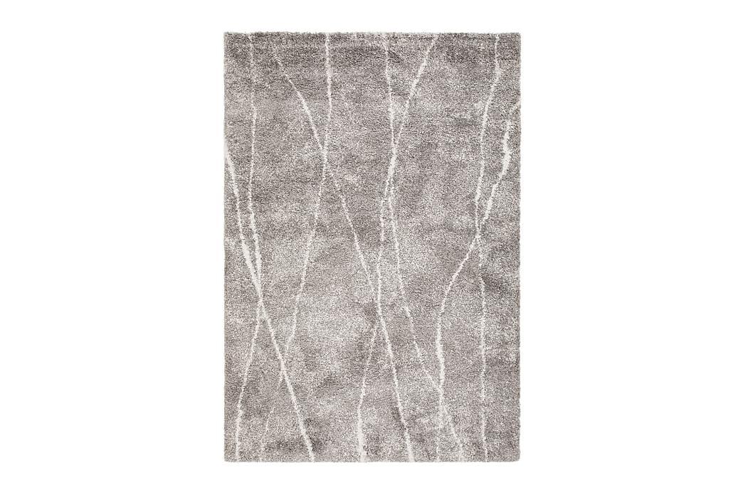 Matto Venedig 200x290 cm - Harmaa/Valkoinen - Sisustustuotteet - Matot - Tasokudotut matot