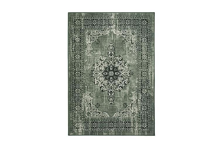 Matto Vintage Medaljong 160x230 cm - Vihreä - Sisustustuotteet - Matot - Isot matot