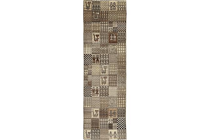 Suuri Matto Lori 87x321 - Beige/Harmaa - Sisustustuotteet - Matot - Isot matot