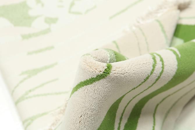 Suuri Matto Woodland 200x300 - Vihreä   Valkoinen - Sisustustuotteet - Matot - Isot matot