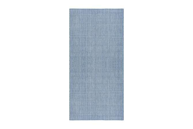 Tasokudottu matto Elite 80x250 - Sininen - Sisustustuotteet - Matot - Isot matot
