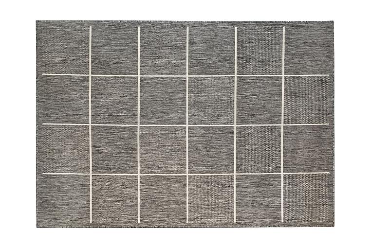 Yleismatto Oodi 160x230 cm Harmaa/Valkoinen - Hestia - Sisustustuotteet - Matot - Tasokudotut matot
