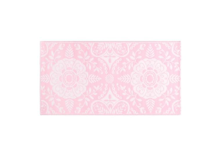 Ulkomatto pinkki 120x180 cm PP - Sisustustuotteet - Matot - Ulkomatot