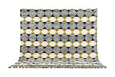 DADRA Villamatto 250x250 Harmaa/valkoinen