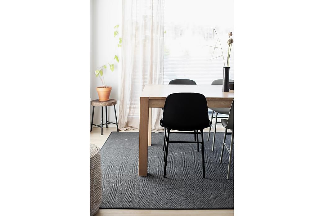 Matto Elsa 133x200 cm Musta - VM Carpet - Sisustustuotteet - Matot - Villamatot