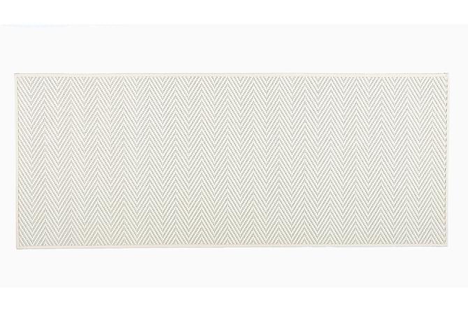 Matto Elsa Pyöreä 133 cm Valkoinen - VM Carpet - Sisustustuotteet - Matot - Villamatot