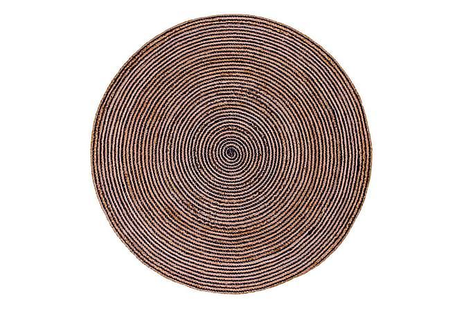 Matto Genevaz 180x180 cm - Tummansininen - Sisustustuotteet - Matot - Villamatot