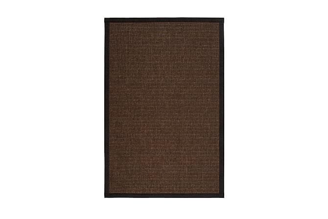 Matto Tunturi 133x200 cm Ruskea - VM Carpet - Sisustustuotteet - Matot - Villamatot