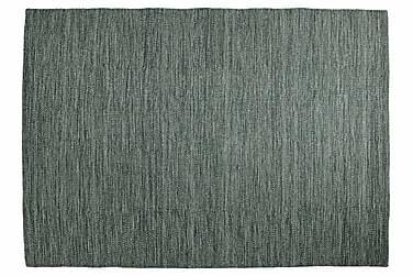 Villamatto Eden käsinkudottu 160x230 Oliivinvihreä