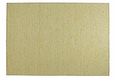 Villamatto Orissa Käsinkudottu 135x190 Keltainen